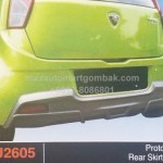 PROTON IRIZ REAR SKIRT OEM (PU2605)