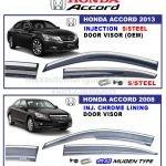 HONDA ACCORD INJECTION DOOR VISOR