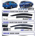 HONDA CITY 2014 INJECTION DOOR VISOR