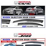 HONDA CIVIC INJECTION DOOR VISOR