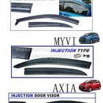BEZZA / MYVI / AXIA INJECTION DOOR VISOR
