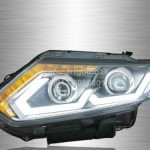 X-Trail Projector LED Light Bar Head Lamp