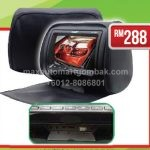 "Monitor Headrest 7"" DVD-HD with ZIP AL-888DVD (Black)"