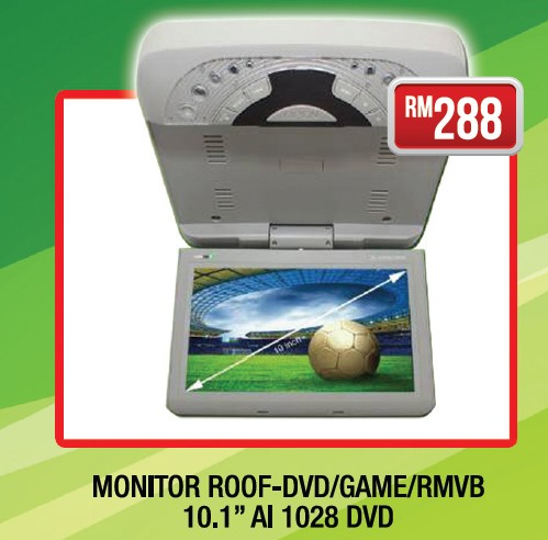 Max Automart Solution Sdn Bhd Monitor Roof Dvd Game Rmvb 10 1 Quot Ai 1028 Dvd