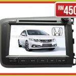 "HONDA CIVIC 2012-2015 8"" (GPS) AL-CIVIC-1213-IP"