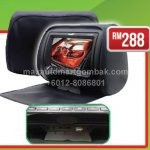 "Monitor Headrest 7"" DVD-HD with ZIP AL-777PL (Black)"