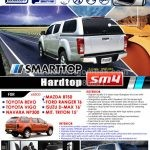 Smarttop Hardtop for Toyota, Mazda or Ford