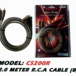 AMERICA CABLE CS200R R.C.A CABLE 2.0 METER R.C.A CABLE (B)