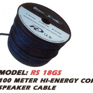 AMERICA SOUND RS 18GS HI-ENERGY CORE SPEAKER CABLE
