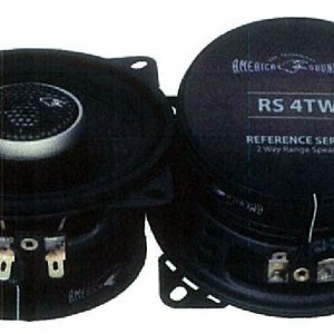 AMERICA SOUND RS 4TW 4 2 WAY RANGE SPEAKER