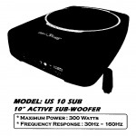 AMERICA SOUND US 10 SUB ACTIVE SUB-WOOFER