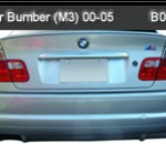 BMW-E46 00-06 REAR BUMPER WITH PANEL M3 (B0863)