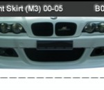 BMW-E46 FRONT SKIRT M3 FOR M3 BUMPER (B0864)