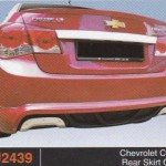 CHEVROLET-CRUZE REAR SKIRT OEM (PU2439)