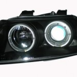 EAGLE EYES AUTO LAMPS AUDI A4 PROJECTOR LED HEAD LAMP HL-096