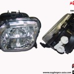 EAGLE EYES AUTO LAMPS BENZ FL-003-BENZ W210 CRYSTAL FOG LAMP