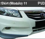 HONDA ACCORD 11 FACELIFT FRONT SKIRT MODULO (PU2407)