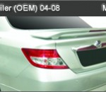 HONDA CITY 03-08 SPOILER WITH LED OEM (M142)