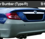 HONDA CITY 04 REAR BUMPER TYRE-R (B1043)