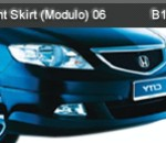 HONDA CITY 06 FRONT SKIRT MODULO (B1162)