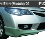 HONDA CIVIC 09 FRONT SKIRT MODULO (PU2261)