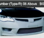 HONDA CIVIC 1.8 06-ABOVE FRONT BUMPER TYPE-R (B0970)