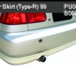 HONDA CIVIC 99 REAR SKIRT TYPE-R (PU0698)