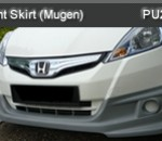 HONDA JAZZ '12 HYBRID FRONT SKIRT WITH LAMP MUGEN (PU2466)