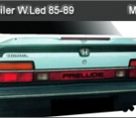 HONDA PRELUDE 85-89 SPOILER WITH LED (M012)
