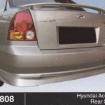 HYUNDAI ACCENT REAR SKIRT (B0808)