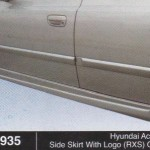 HYUNDAI ACCENT SIDE SHIRT WITH LOGO RXS OEM (B0935)