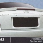 HYUNDAI ACCENT SPOILER WITH LED (M163)