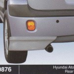HYUNDAI ATOS 05 REAR SKIRT (B0876)