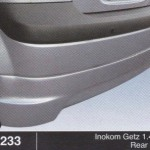 INOKOM GETZ 1.4 05 REAR SKIRT (B1233)