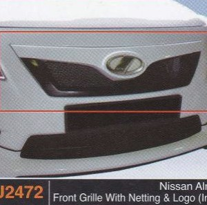NISSAN ALMERA FRONT GRILLE WITH NETTING & LOGO IMPUL (PU2472)