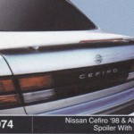 NISSAN CEFIRO 98-ABOVE SPOILER WITH LED (M074)