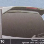 NISSAN LIVINA 08 SPOILER WITH LED SPORTY (M310)
