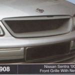 NISSAN SENTRA 00-03 FRONT GRILLE WITH NETTING (B0908)