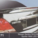 NISSAN SENTRA 04-ABOVE SPOILER WITH LED OEM (M171)
