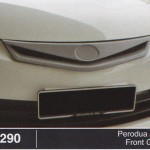 PERODUA ALZA FRONT GRILLE (B1290)