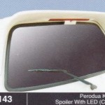 PERODUA KANCIL SPOILER WITH LED CROSS (M143)
