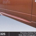 PERODUA KELISA FACELIFT SIDE SKIRT ORINIGAL OEM (B1325)