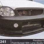 PERODUA KELISA FRONT BUMPER WITH LAMP BUDDY CLUB (B1241)