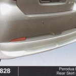 PERODUA MYVI REAR SKIRT AS (B0828)