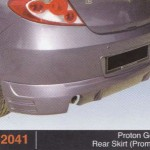 PROTON GEN 2 REAR SKIRT PROMOTE (PU2041)