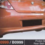 PROTON GEN 2 REAR SKIRT R3 (PU0999)