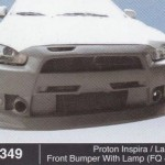 PROTON INSPIRA LANSER FRONT BUMPER WITH LAMP FQ400 (B1349)