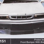PROTON ISWARA FRONT BUMPER WITH BRACKET (B1151)