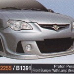 PROTON PERSONA FRONT BUMPER WITH LAMP NEO R3 (PU2255)