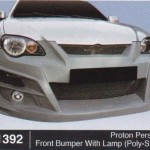 PROTON PERSONA FRONT BUMPER WITH LAMP POLY-STYLE (B1392)